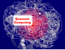Quantum computing artwork from Software Engineering Daily